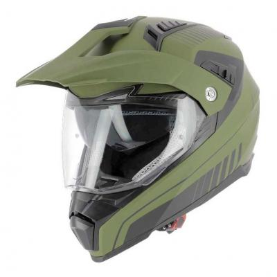 Casque Trail Astone Crossmax Shaft vert army mat