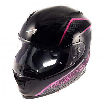 Casque intégral Astone GT900 exclusive PULSE rose