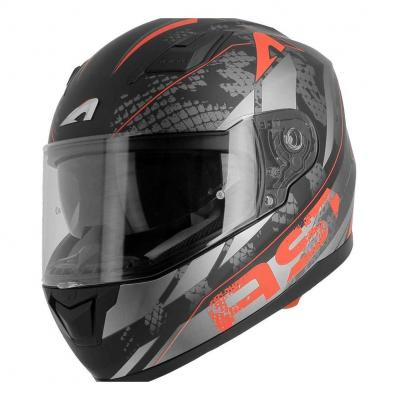 Casque intégral Astone GT900 exclusive SKIN rouge