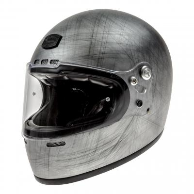 Casque intégral Astone VINTAGE GT RETRO mat gris