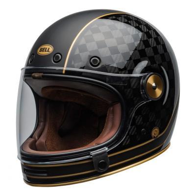 Casque intégral Bell Bullitt Carbon RSD Check-it mat/brillant noir