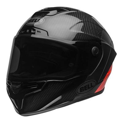 Casque intégral Bell Race Star Flex DLX Lux noir/rouge mat/brillant