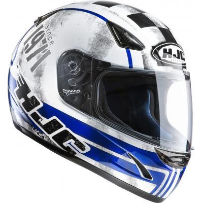 Casque intégral HJC CS-14 Check 71 MC2 Noir/Bleu/Blanc