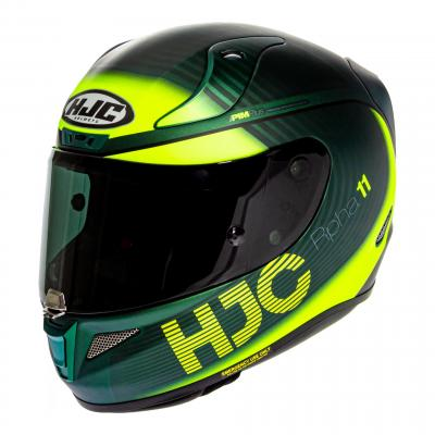 Casque intégral HJC RPHA 11 Bine MC4HSF noir/jaune/vert