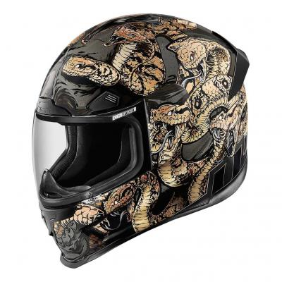 Casque intégral Icon Airframe Pro Cottonmouth or