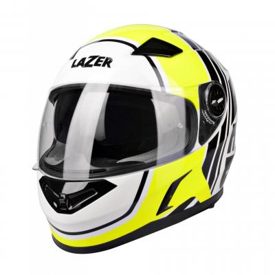 Casque intégral Lazer Bayamo Race Spirit jaune/blanc