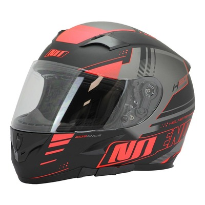 Casque intégral Noend H20-Advance by ASD Racing noir/rouge