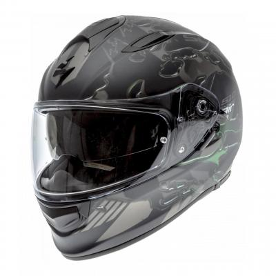 Casque intégral Scorpion Exo-510 Air Likid Mat noir/vert