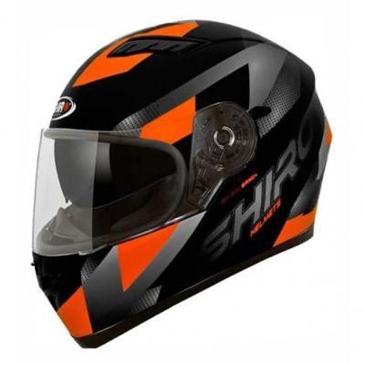 Casque intégral SH 600 BRNO noir/orange