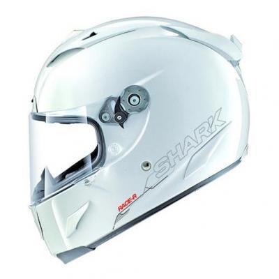 Casque Intégral SHARK Race-R Pro Blank blanc