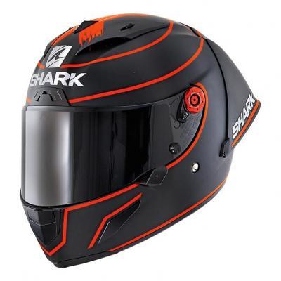 Casque intégral Shark Race-R Pro GP Lorenzo Winter Test 2019 Mat noir/rouge/noir