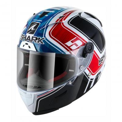 Casque intégral Shark Race-R Pro Réplica Zarco GP de France bleu/blanc/rouge