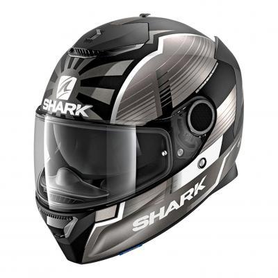 Casque intégral Shark Spartan 1.2 Réplica Zarco Malaysian GP Mat noir/anthracite/argent