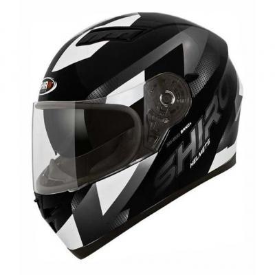 Casque intégral Shiro SH 600 BRNO noir/blanc