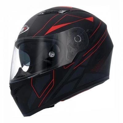 Casque intégral Shiro SH 600 Elite noir/rouge