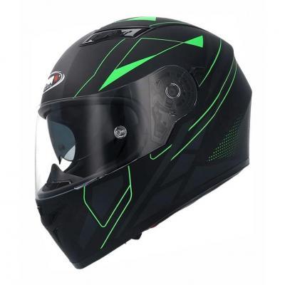 Casque intégral Shiro SH 600 Elite noir/vert