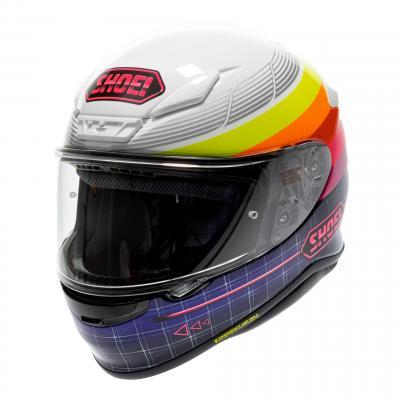 Casque intégral Shoei NXR Stab Zork TC-7 multicolore