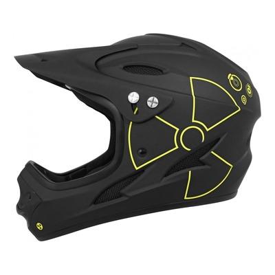 Casque intégral vélo BMX Gist Intégral Fall noir/jaune (taille 53-56)