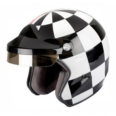Casque jet Felix Motocyclette ST520 Grand Prix