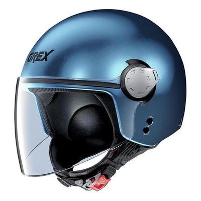 Casque jet Grex G3.1E Kinetic Mat Sapphire blue