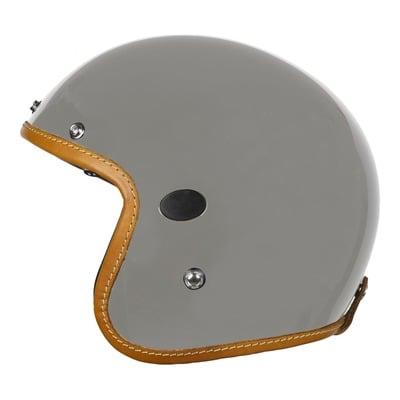 Casque jet Helstons Naked Carbone gris