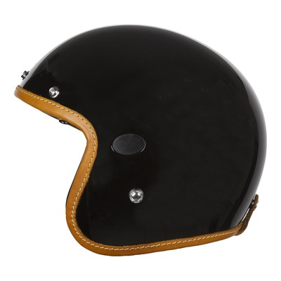 Casque jet Helstons Naked Carbone noir