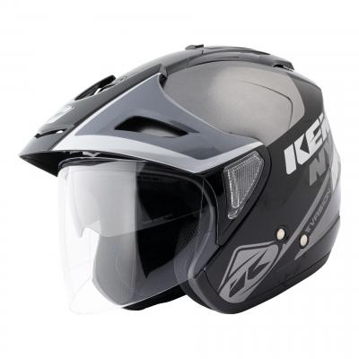 Casque jet Kenny Evasion Graphic gris