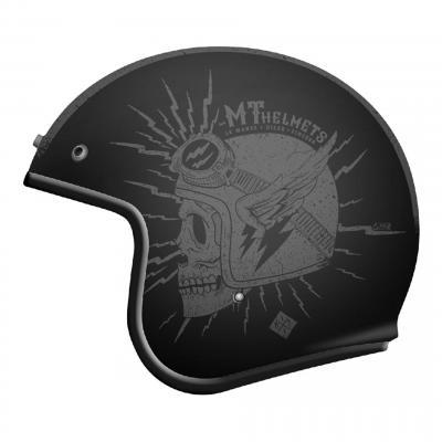Casque jet MT Helmets Le Mans 2 SV Diler gris mat