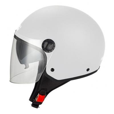 Casque jet S-Line S706 R-Fully blanc brillant