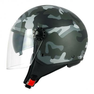 Casque jet S-Line S706 R-Fully Ice camouflage