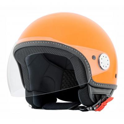 Casque jet Vespa Visor 2.0 orange