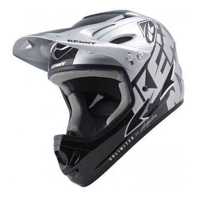 Casque Kenny Down hill argent