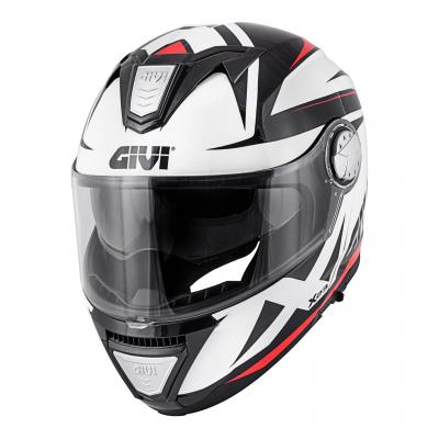 Casque modulable Givi X.23 Sydney Pointed noir/blanc/rouge