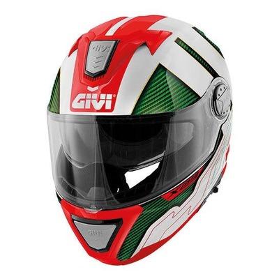 Casque modulable Givi X.23 Sydney Protect italie rouge/blanc/vert brillant