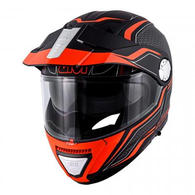 Casque modulable Givi X.33 Canyon Division noir mat/orange