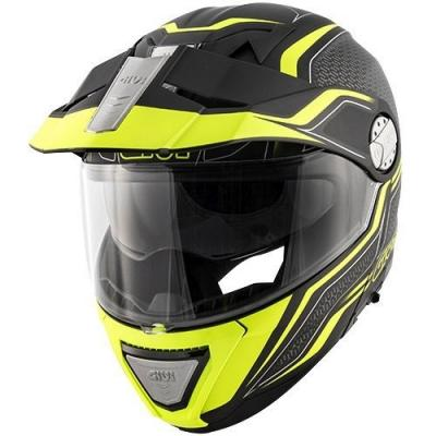 Casque modulable Givi X.33 Canyon Layers noir mat/jaune