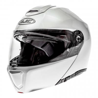 Casque modulable HJC RPHA 90 METAL Blanc