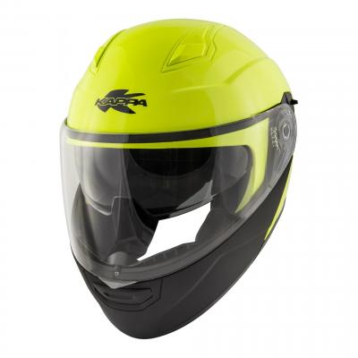 Casque modulable Kappa KV31 Arizona Basic jaune fluo/noir mat