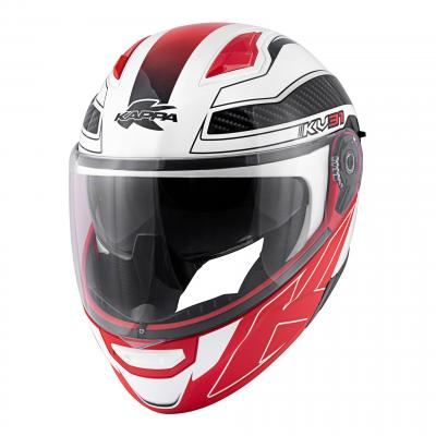 Casque modulable Kappa KV31 Arizona Bigger blanc verni/noir
