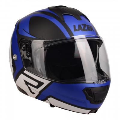 Casque modulable Lazer Lugano Z-Generation noir/bleu/blanc