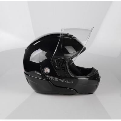Casque modulable Lazer MONACO EVO Pure Glass noir métal