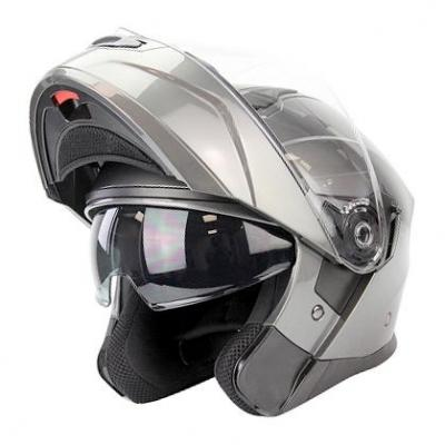 Casque modulable Noend District gris titane