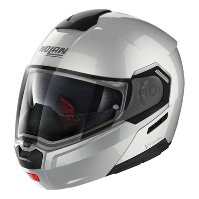 Casque modulable Nolan N90-3 Special N-Com Salt grey