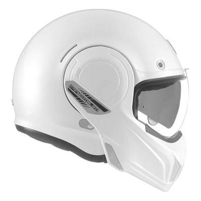 Casque modulable Nox Premium Stratos blanc nacré