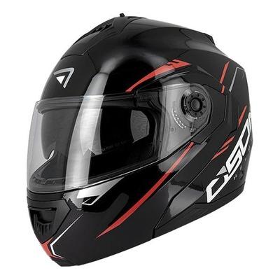 Casque modulable Osone S520 noir/rouge brillant