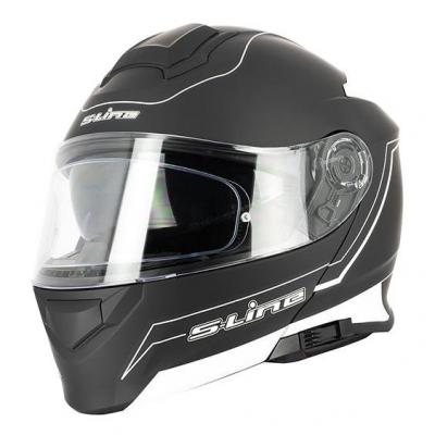 Casque modulable S-Line S550 Dual Face noir/blanc mat +pinlock