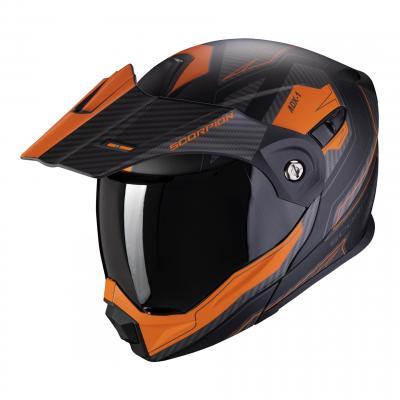 Casque modulable Scorpion ADX-1 Tucson noir/orange mat