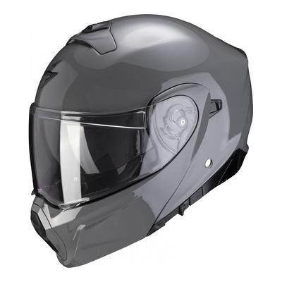 Casque modulable Scorpion EXO-930 Solid gris ciment