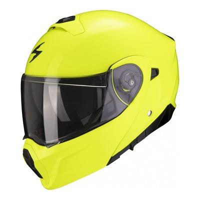 Casque modulable Scorpion EXO-930 Solid jaune fluo