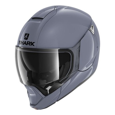 Casque modulable Shark Evojet Blank gris S01